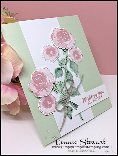 A STAMPING DOUBLE FEATURE - See two different versions of the same card using the First Frost bundle - www.SimplySimpleStamping.com - look for the September 13, 2018 blog post