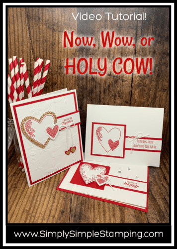 Handmade Valentine Cards   Now, Wow or HOLY COW