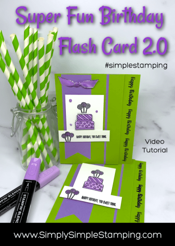 A Birthday Card You'll Find Irresistible and Quick to Make | Flash Card 2.0