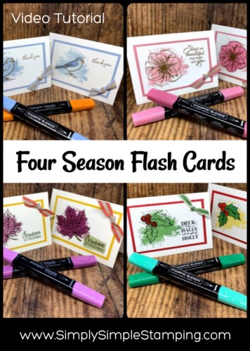 4 Easy Cards  | Coloring Technique to Make Life Easy