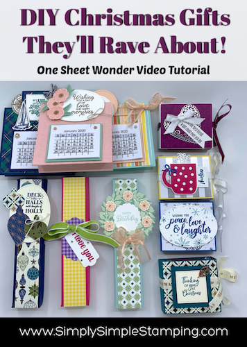 DIY Gifts They'll Rave About | One Sheet Wonder