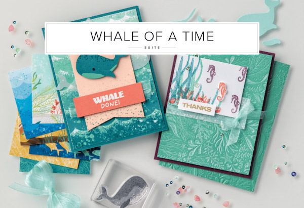Dive into the Whale of a Time Suite For Card Making Fun!