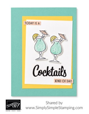 nothing's-better-than-cocktails-card-idea-in-retro-style-with-green-and-yellow-cardstock
