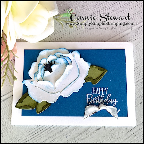 easy-paper-flowers-white-peony-with-inked-edges-on-blue-background