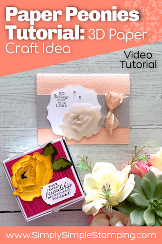 Easy Paper Flowers: Your Guide on How to Make 3D Paper Peonies