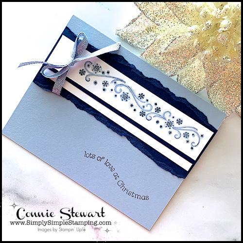 how-to-tear-cardstock-on-handmade-christmas-card-border