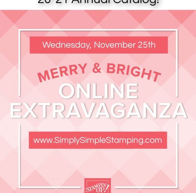 WOW! The Online Extravaganza has been EXTENDED!