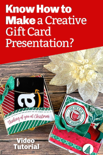 Know How to Make a Creative Gift Card Presentation?