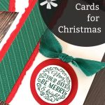 Paper Craft Cards for Christmas