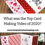 What Was the Top Card Making Video of 2020