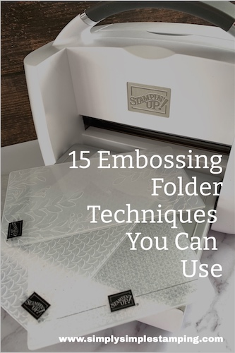 15 Creative Ways to Use Embossing Folders
