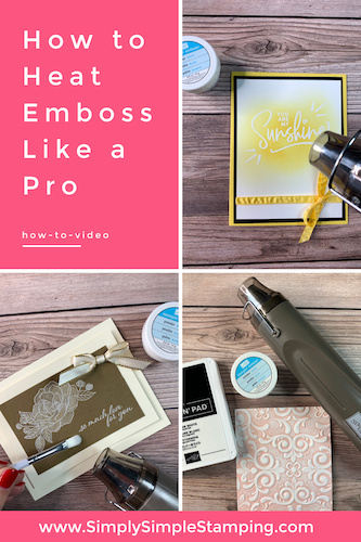 How to Heat Emboss Like a Pro