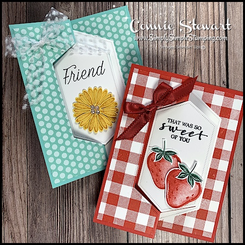 Make a creative swinging card for any ocassion