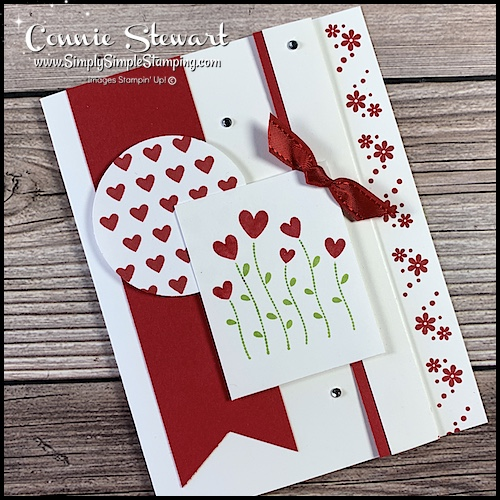 I love the fact that this layout is perfect for making simple all occasion cards.