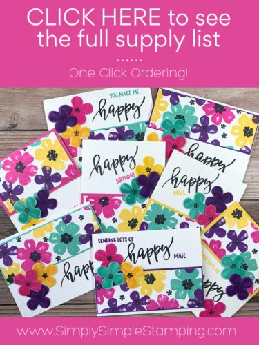 Click here to see the supply list for these 8 greeting cards