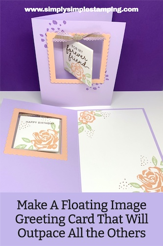 Make A Floating Image Greeting Card That Will Outpace All the Others