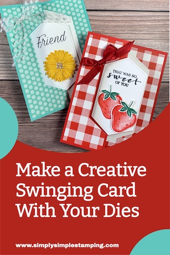 Save this to your Pinterest board so you always know how to make a creative swinging card.