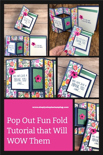 Make a Pop Out Fun Fold Card That Will WOW Them
