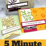 5 Minute Paper Craft Cards to Make
