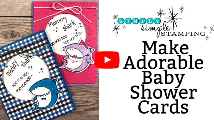 Adorable baby shower cards you can learn to make with this video tutorial