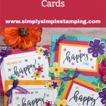 Pretty Perennials by Stampin' Up! | 4 DIY Cards