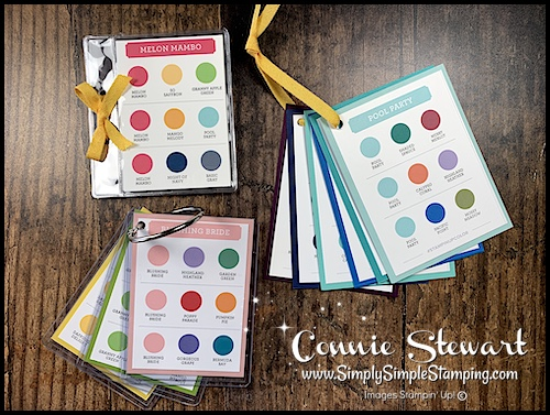 DIY Stampin' Up! Color Coach for color inspiration at your fingertips!