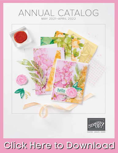 New Stampin' Up! annual catalog full of new craft supplies; download the catalog here.