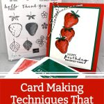 Card Making Techniques That Are Addictive