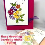 Easy Greeting Cards to Make Full of Jubilant Colors