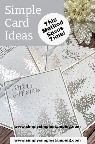 Simple Card Ideas To Make That Are Beautiful + Will Save You Time