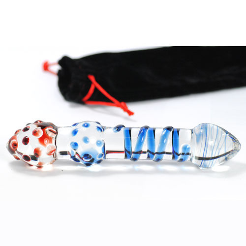 Simply Sinful double ended glass dildo