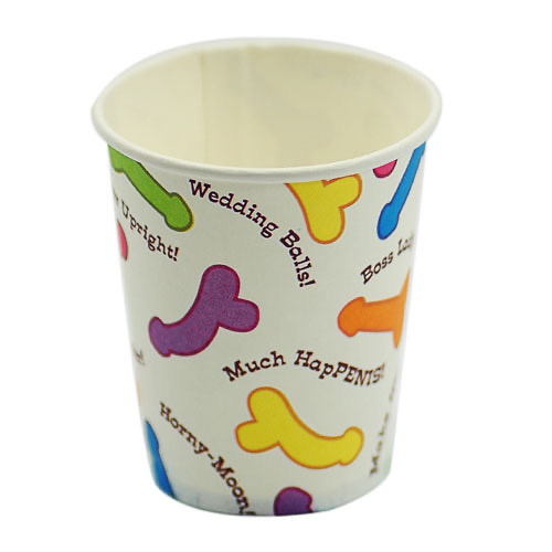 Pecker Party Adult Theme Paper Cup