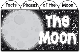 phases of the moon interactive notebook, phases of the moon, phases of the moon lesson, how to teach phases of the moon, phases of the moon activity
