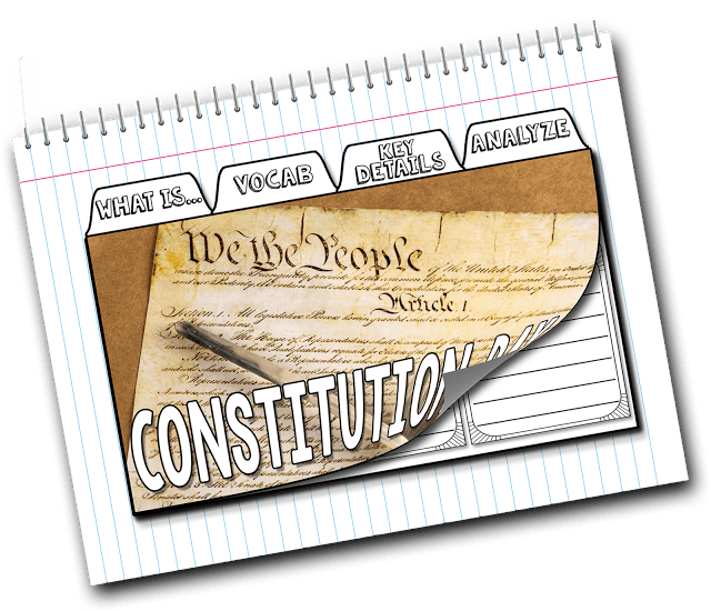 constitution day interactive notebook