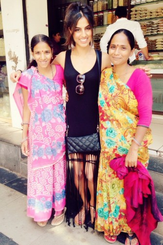 I met these two ladies whilst buying some cashew nuts. They were both Gujrati, which is what I am so we got chatting away!
