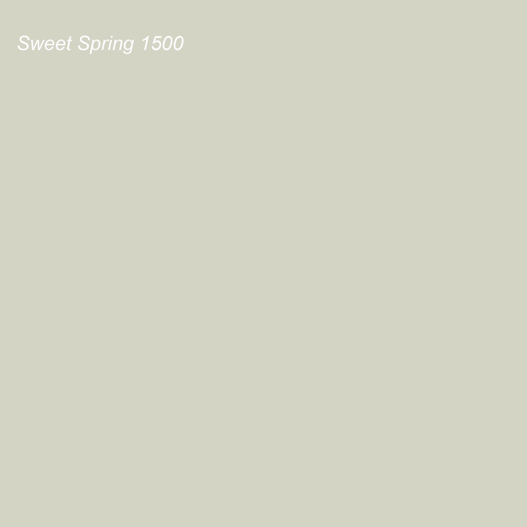 Benjamin Moore 2021 Color of the Year Suggested Accent Shade Sweet Spring 1500