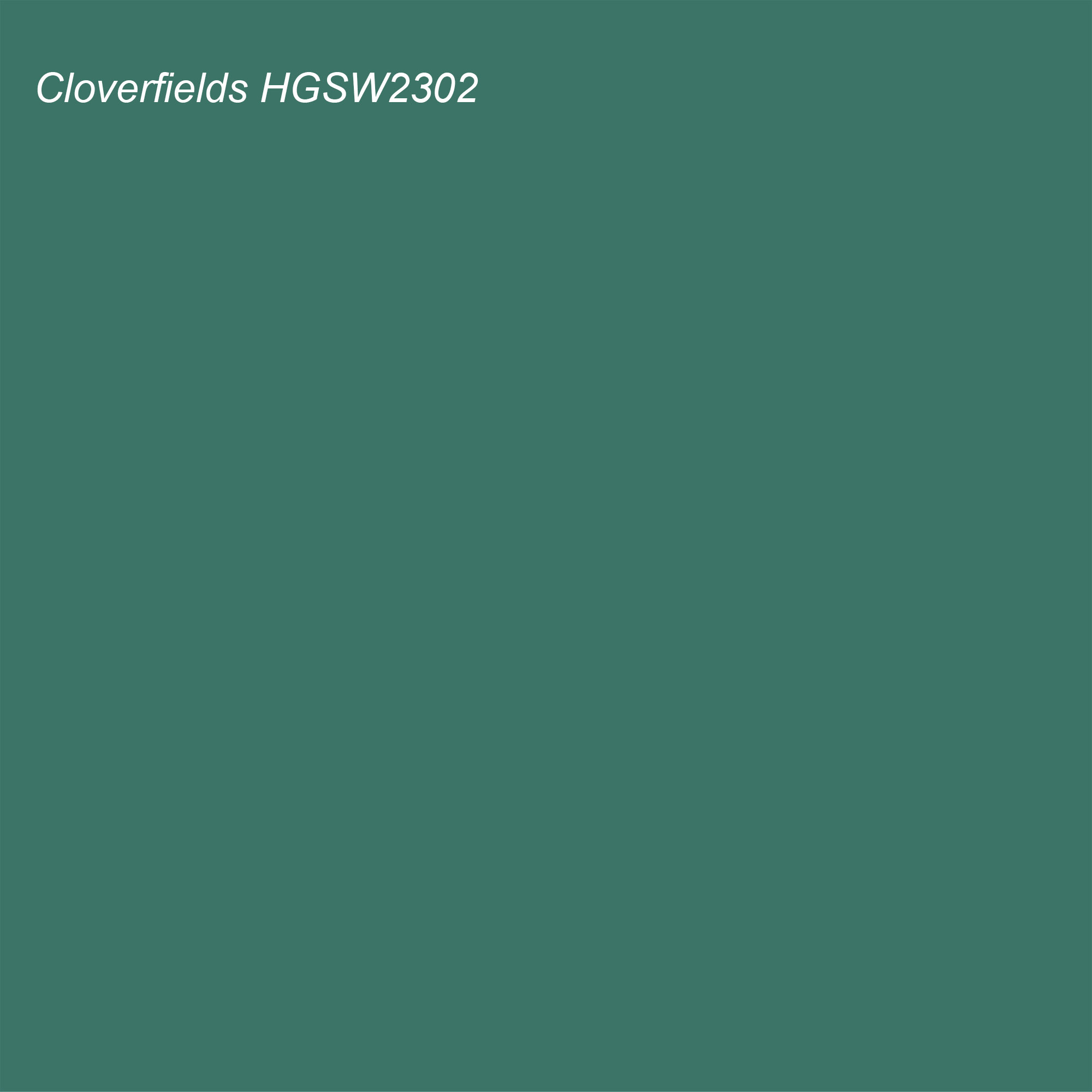 HGTV 2021 Color of the Year Suggested Accent Shade Cloverfields HGSW2302