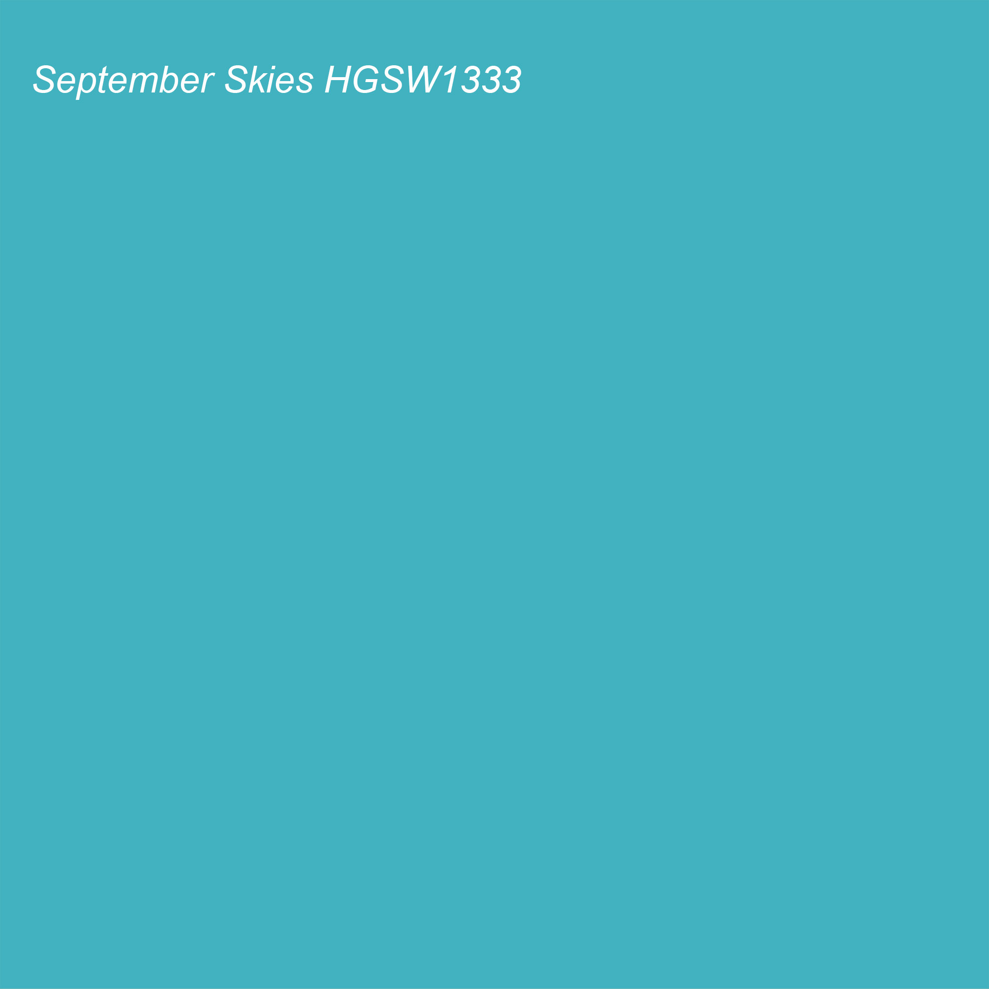 HGTV 2021 Color of the Year Suggested Accent Shade September Skies HGSW1333
