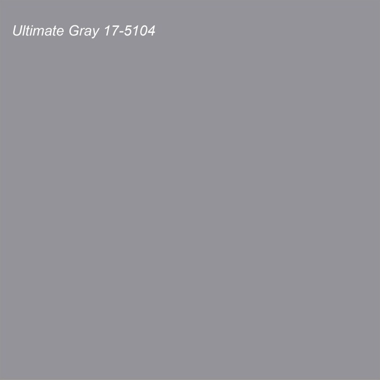 Pantone 2021 Color of the Year Ultimate Gray 17-5104
