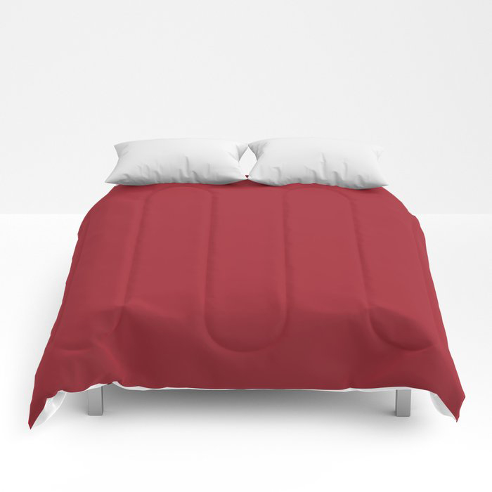The Fire Within Red Solid Color 2021 Pairs Rustoleum's 2021 Color of the Year Satin Paprika Comforters