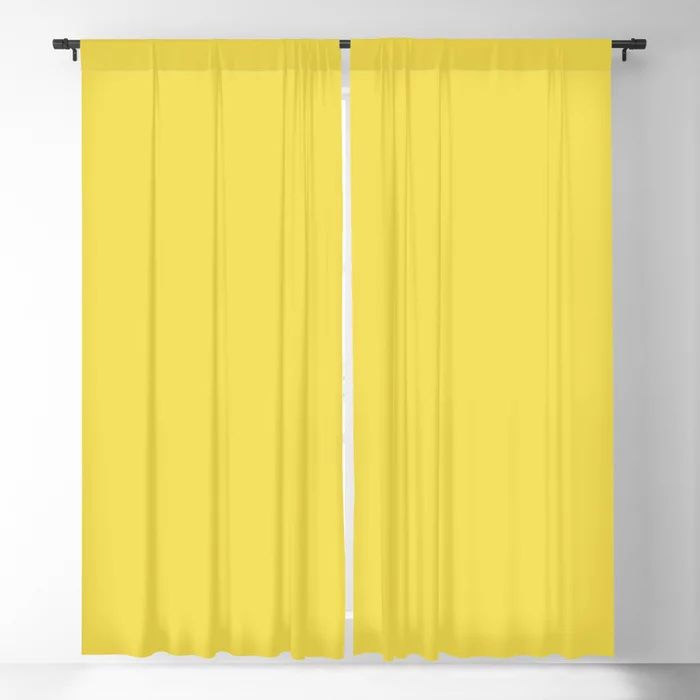 Solid Color Blackout Curtains - Window Treatments
