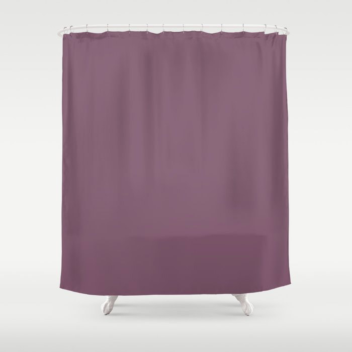 Jumping Jamboree Purple Solid Color Pairs To Behr's 2021 trending color Euphoric Magenta M110-7 Shower Curtain