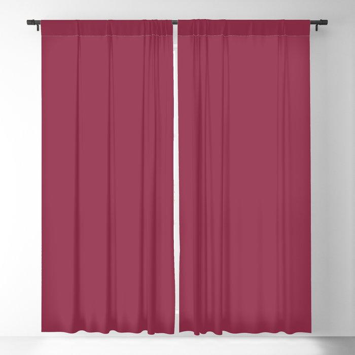 Harvest Red Pink Solid Hue - 2022 Color - Shade Pairs Dunn and Edwards Scarlet Apple DEA146 Blackout Curtain