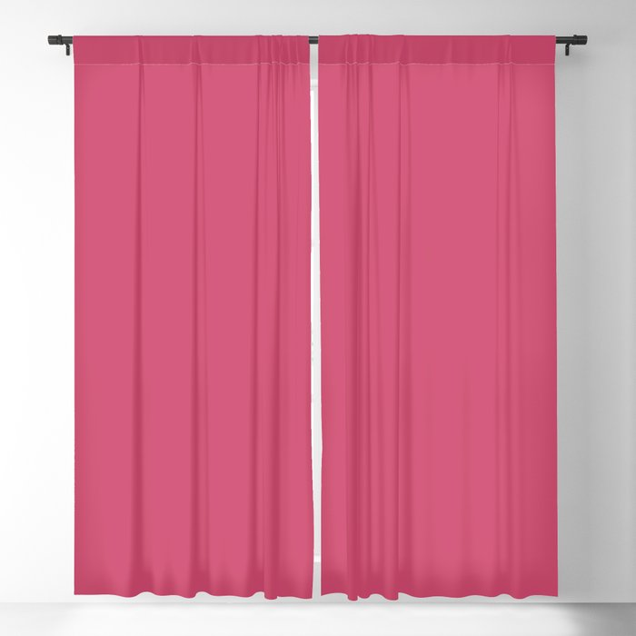 Medium Pink Solid Hue - 2022 Color - Shade Pairs Dunn and Edwards Pink Punch DE5048 Blackout Curtain