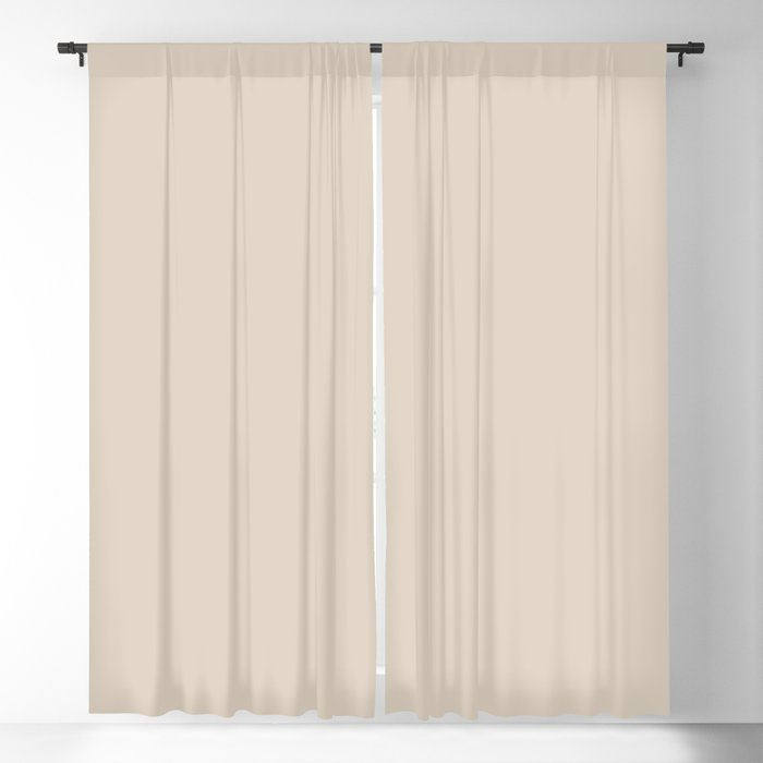 Off White Solid Color 2022 Trending Hue Sherwin Williams Natural Linen SW 9109 Blackout Curtain