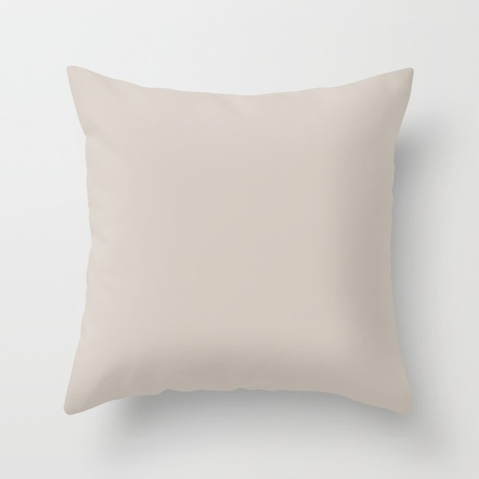 Pastel Pink Solid Color Throw Pillow Pairs Pantone Perfectly Pale Pink 13-0003 Autumn/Winter Key Color - Shade - Hue - Colour