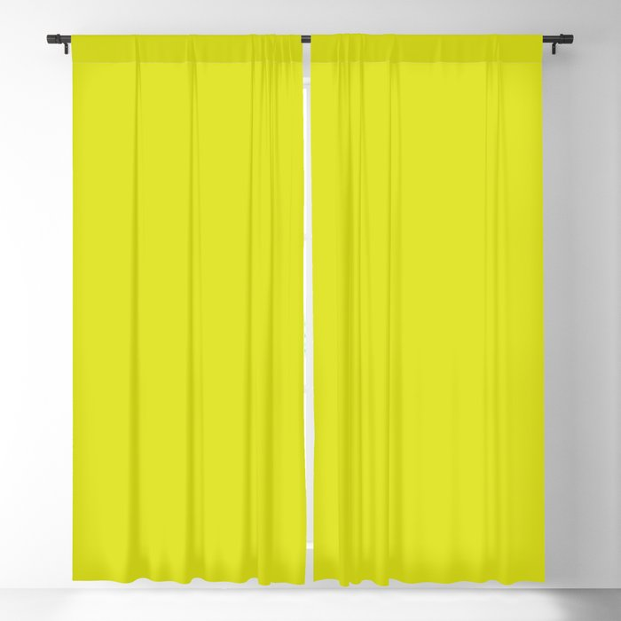 Vivid Lime Green Solid Color 2022 - 2023 S/S Trending Hue Coloro Light 050-83-41 Blackout Curtain