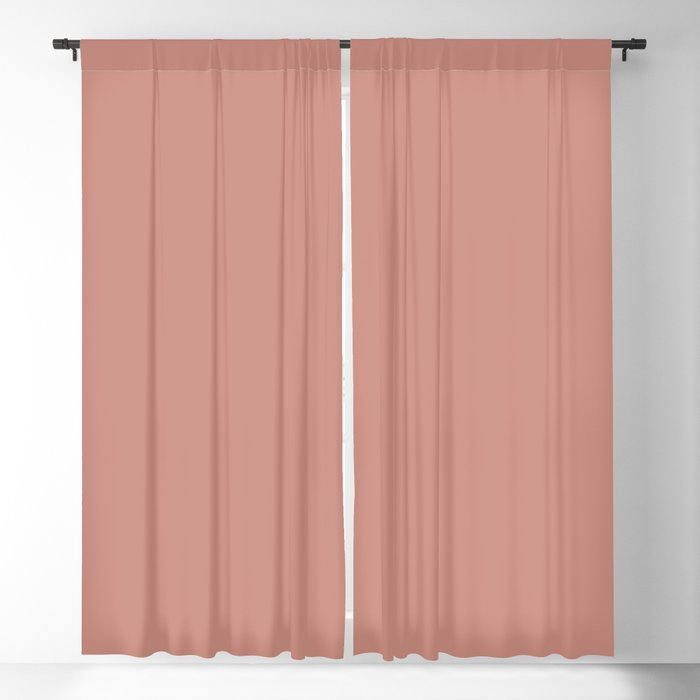 Pastel Pink Solid Hue - 2022 Color - Shade Dunn and Edwards Frontier Land DE6074 Blackout Curtain