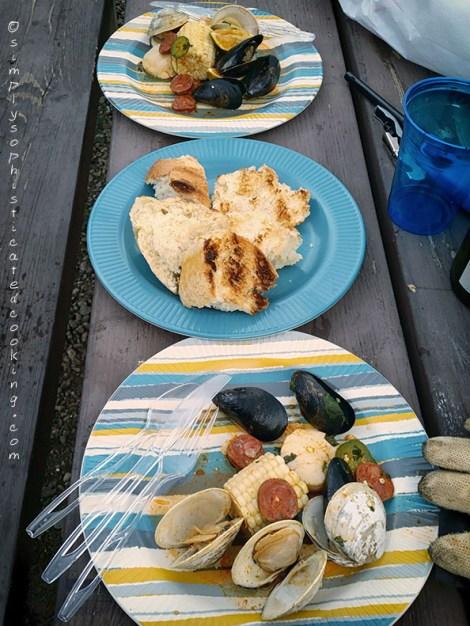 Spanish Chorizo, Jalapeno and Lime Seafood Packets