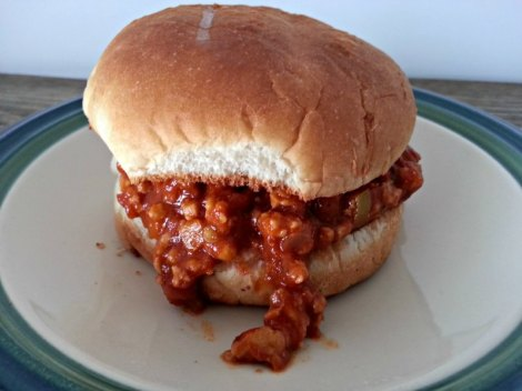 Closed Sloppy Joe